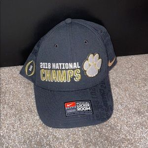 Brand new Nike Clemson National Champs hat